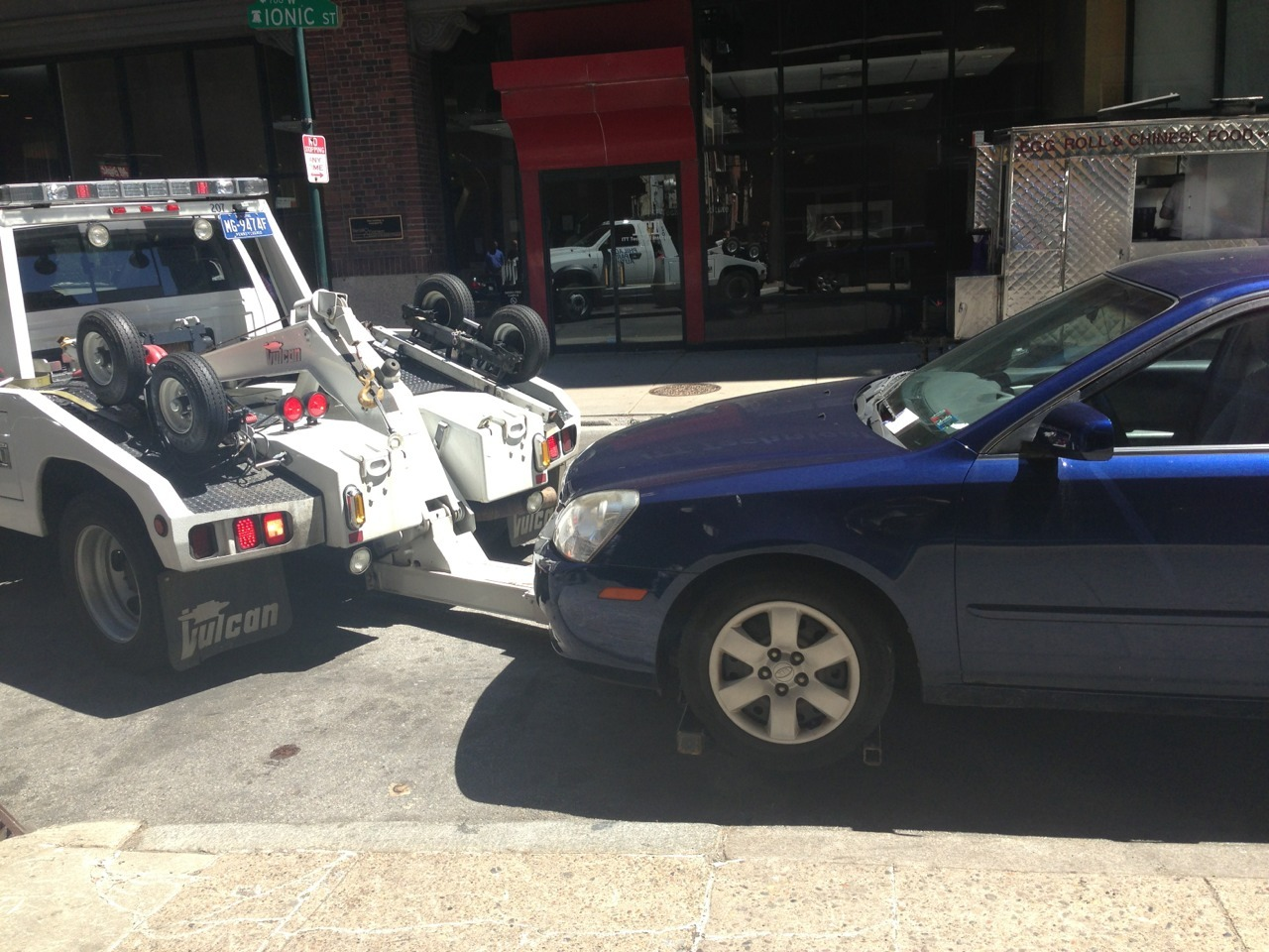 if u were parked on 7th near sansom, here's who stole yer car.