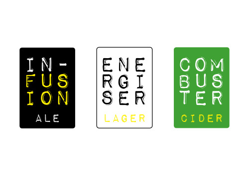 chriscottamdesign:  New bottle label designs for my microbrewery
