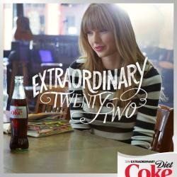 @DietCoke: We're announcing something BIG tomorrow. Get ready to show @taylorswift13 just how much her lyrics mean to you.