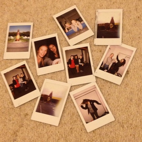 homelesstrolley:  #polaroids 📷  Last weekend.