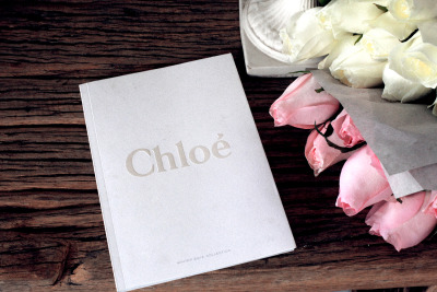 hawaiiancoconut:  Chloe lookbook & roses.