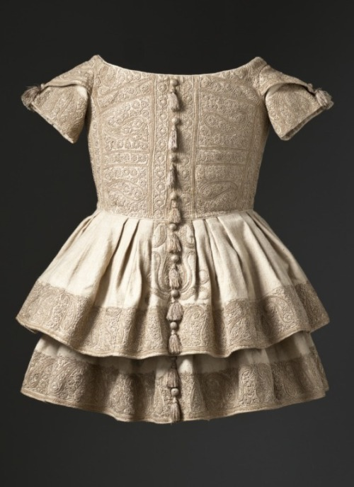 Boy's Frock 1855 The Los Angeles County Museum of Art