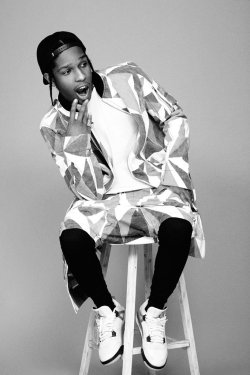 "les-nyc:  i-D Magazine 2013 Pre-Spring ""Alphabetical"" Issue with A$AP Rocky Preview"