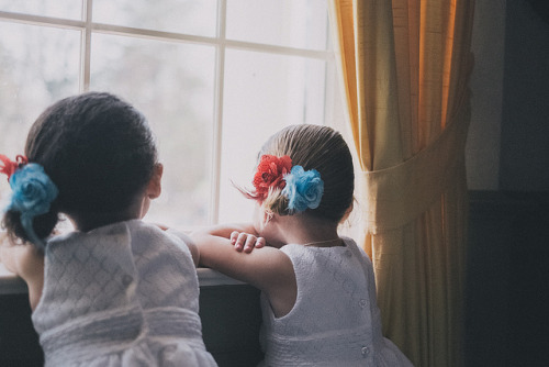 fragilles:  Flower Girls by Michael Hulcher on Flickr.