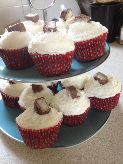 May 2013- Chocolate coconut cupcakes
