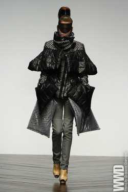 womensweardaily:  Fashion Fringe RTW Fall 2013