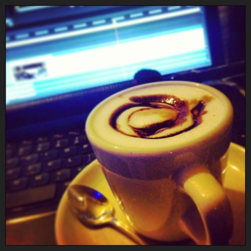 Much needed Mocha for editing!