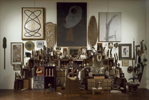 Andre Breton was a collector after my own heart. (via Collection André Breton Mur)