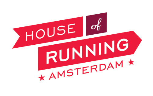 Logo for House of Running, a great running training group based in Amsterdam, Netherlands. www.houseofrunning.com