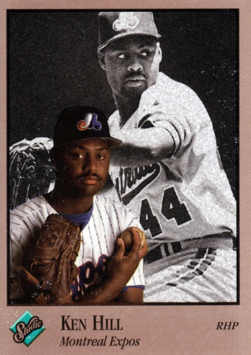 Random Baseball Card #2355: Ken Hill, pitcher, Montreal Expos, 1992, Leaf.