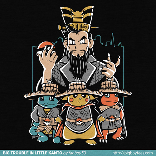 powerpig:  Big Trouble in Little Kanto by Matt Parsons (fanboy30).   •Geekleetist: Just yesterday I was going to bitch about all the Pokemon shit I've been seeing…but I'm going to let this one slide because it rules so hard•
