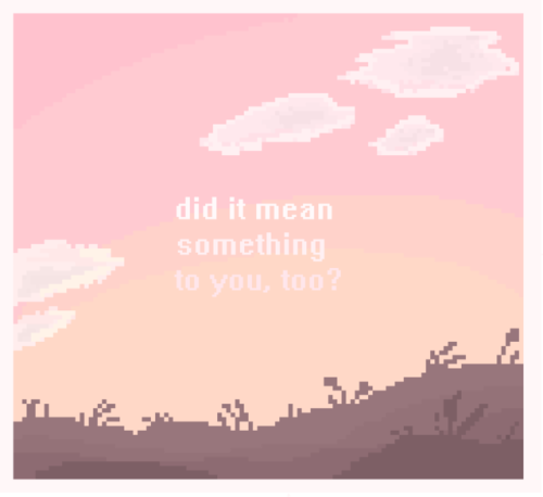 pixel art pixels artists on tumblr my art if i designed an album cover this is what i& 039;d want it to look like also im a big fan of sunsets i& 039;ve gotten much better at drawing them