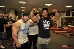 Flex Lewis and Phil Heath