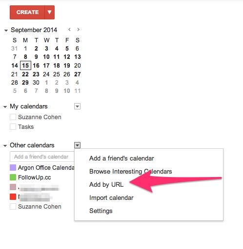 Email Events to Google Calendar - FollowUp cc Blog
