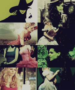 helebing:   Swan Queen AU: Wicked.