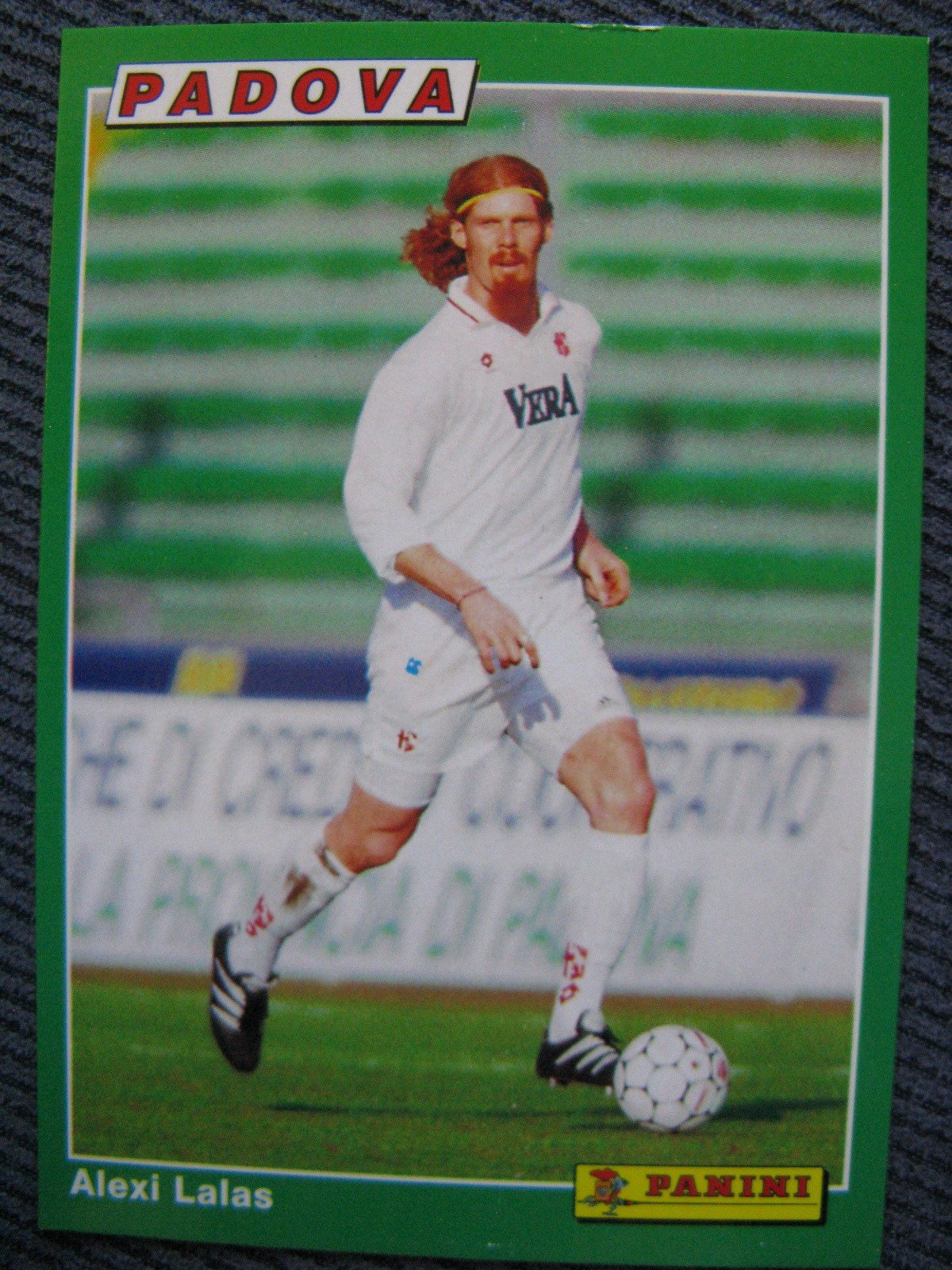 #AmericanAbroad Alexi Lalas, during his time with Padova.