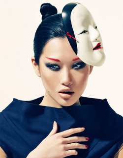 cosascool:  Angie Ng photographed by Bustaman Mokhtar for Zen Magazine