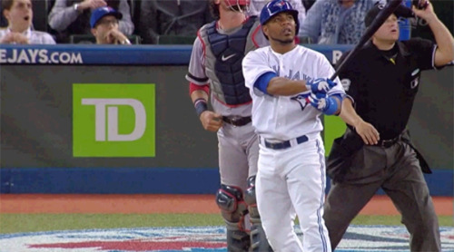 So Edwin Encarnacion's 5th deck home run was a jaw-dropper to say the least.