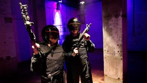 Total Film gets the RoboCop training