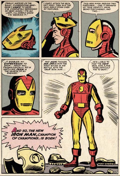 Iron Man evolves…