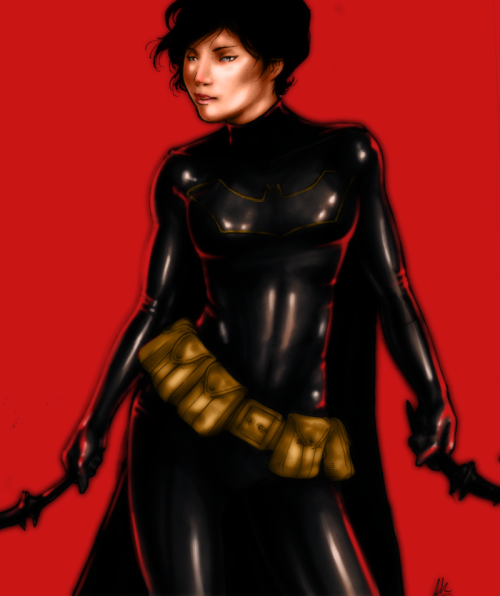 avikanish:   Cassie Cain - The most bad-ass Batgirl there ever was