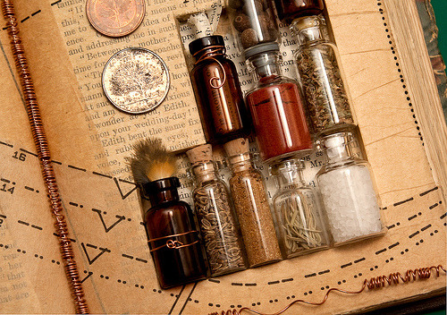 bottle magic flacon medieval wicca