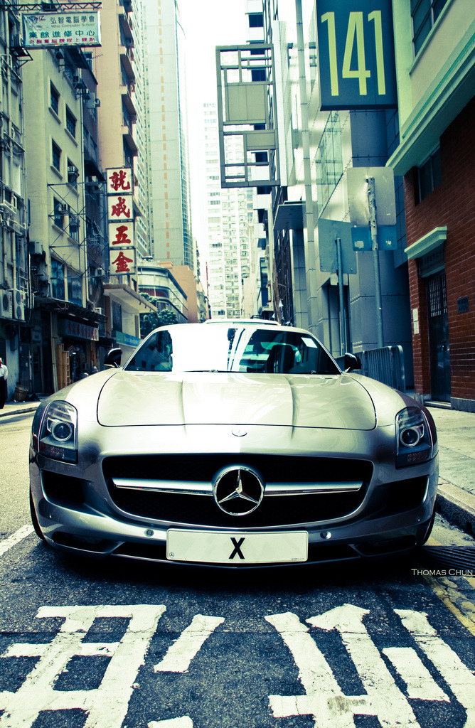 automotivated:  Mercedes-Benz SLS AMG (by Thomas Chun)