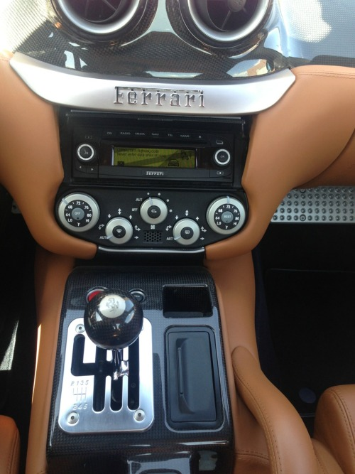 ferrariserviceaz:  One of only two Ferrari 599 GTB equipped with a manual shifter in the USA.  A rare picture! Hardly any 599's were bought with the manual. Not a single person in the UK even bought a manual 599…