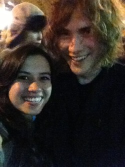 Met the angelic and wonderful Andrew Vanwyngarden tonight!!!