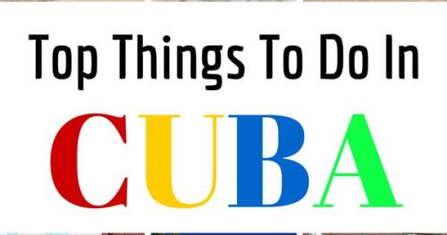 Thinking of traveling to Cuba? Here are Cuba: Top 10 Best…