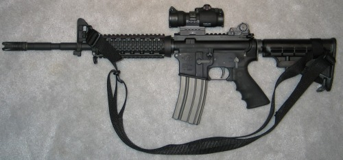 So I had always planned to buy an AR with my tax refund…guess thats not going to happen now.