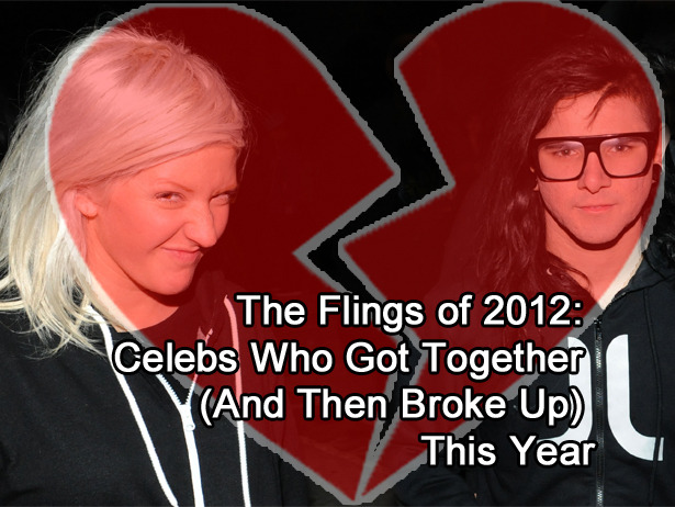 RIP Skrillex/Ellie Goulding, couple of the perfect crazy hairstyle.