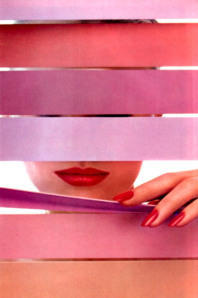 periodicult:  Revlon, American Vogue, June 1984.