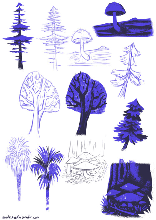 Trees and forest-y stuff.
