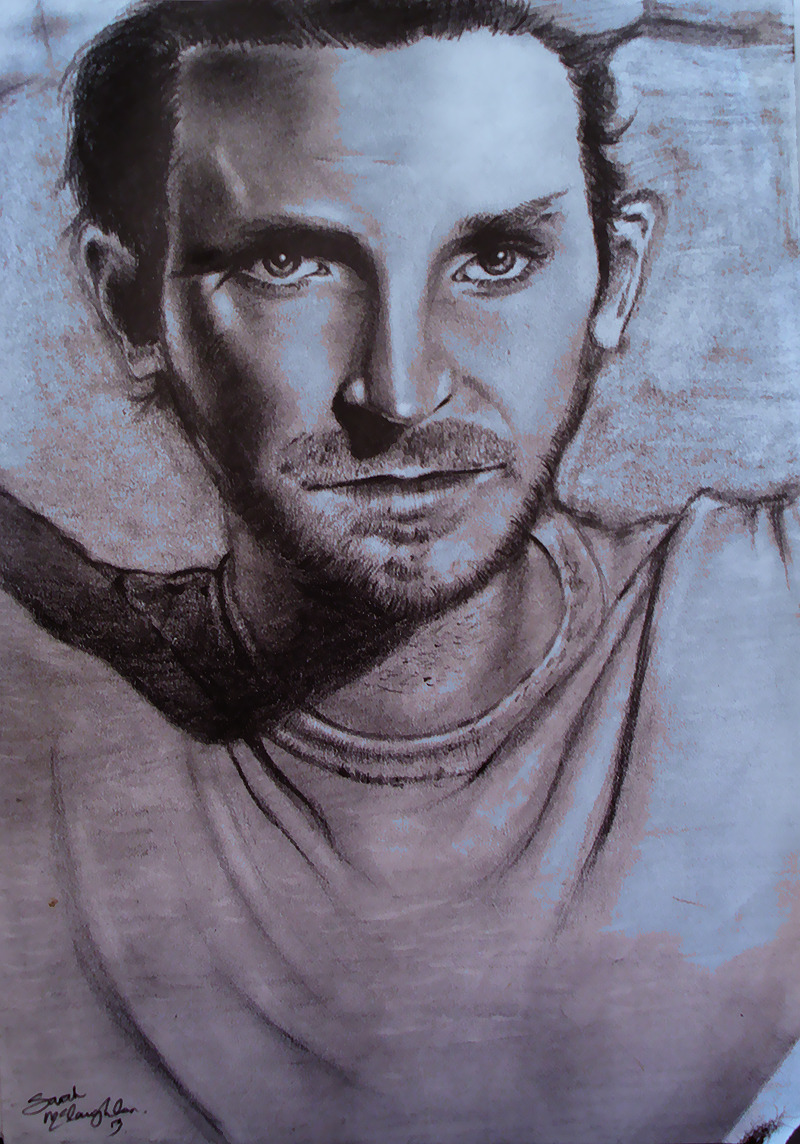 Another drawing by me. BRADLEY COOPER YOU BABE.