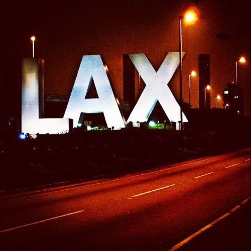 at Los Angeles International Airport (LAX)