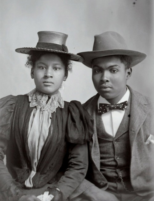 Black Couple | 1902 Hugh Mangum Photographs Rare Book, Manuscript, and Special Collections Library, Duke University (circa 1900s) Black History Album, The Way We WereFollow us on TUMBLR  PINTEREST  FACEBOOK  TWITTER
