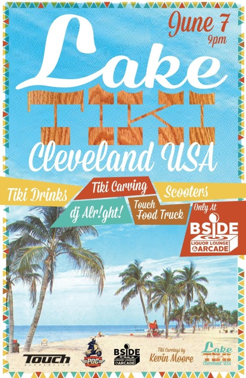We are throwing a tiki party in cleveland! It's going to be amazing!