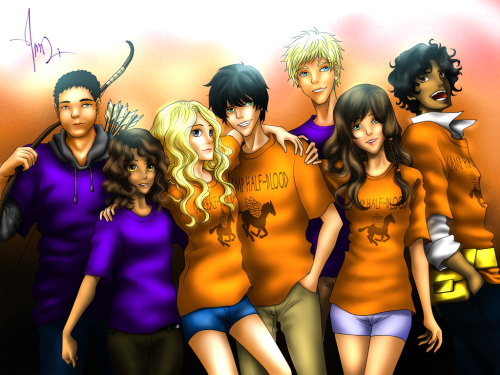 percabeth-perfection:  The Heroes Of Olympous by ~ChibiSasori1827