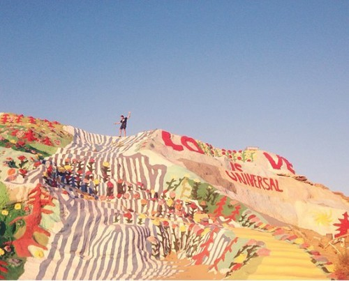 overtherainbowkikkykoala:  Salvation Mountain on We Heart It. http://weheartit.com/entry/60461833
