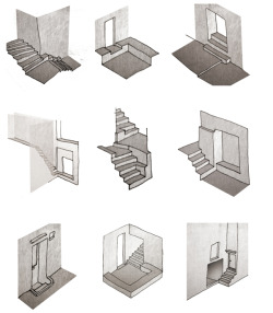 fabriciomora:  Urban studies - sketches by Sune Jørgensen