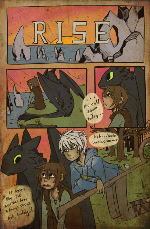 Page 1 … Finally we're underway… The prologue will probably last between 5 and 8 pages. We'll see how many it takes to get things started. Then, when I'm done, I'll open the ask box to you guys and you can take the lead. Bear with me until then. Page 2 is in progress, just wait a little. I also promise to figure out how to draw Jack better. >.o