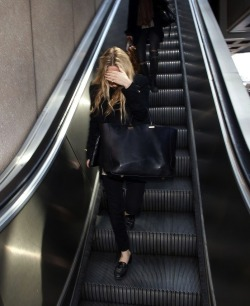Ashley Olsen - Los Angeles International Airport (April 26, 2013)