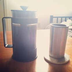Bought myself a French press to celebrate finishing two years at EKU!