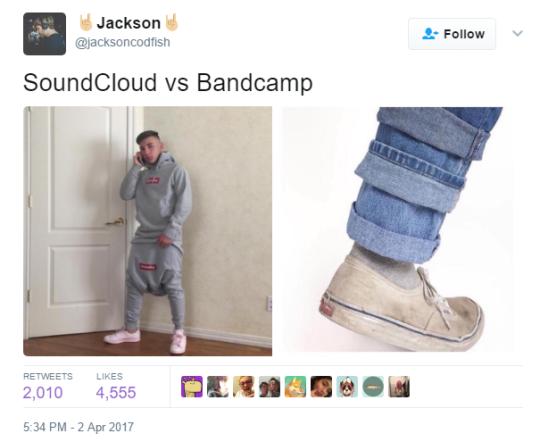 Soundcloud vs Bandcamp Artists <p><a Href