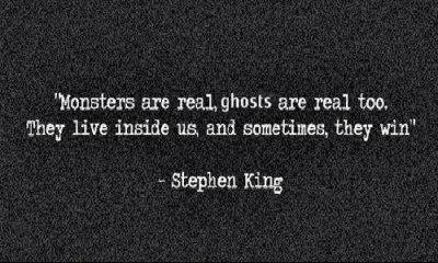 theevolutionismagic:  Monsters are real, ghosts are real too. en We Heart It. http://weheartit.com/entry/53178750/via/ceeli_sixx