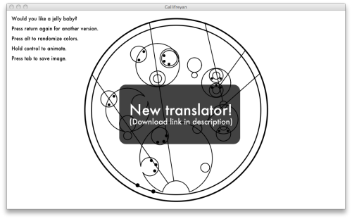 kissesjohnlockandgrell:  moonblossom:  New and much-improved translator! by ~BlackHatGuy Holy crap you guys it's a Gallifreyan translator I legit got out of bed to post this link.  Holy shit I am going to die from this wow woowowo wowowowww