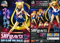 ochibawolf:  I scanned the Japanese S.H. Figuarts flyer. =D Enjoy!