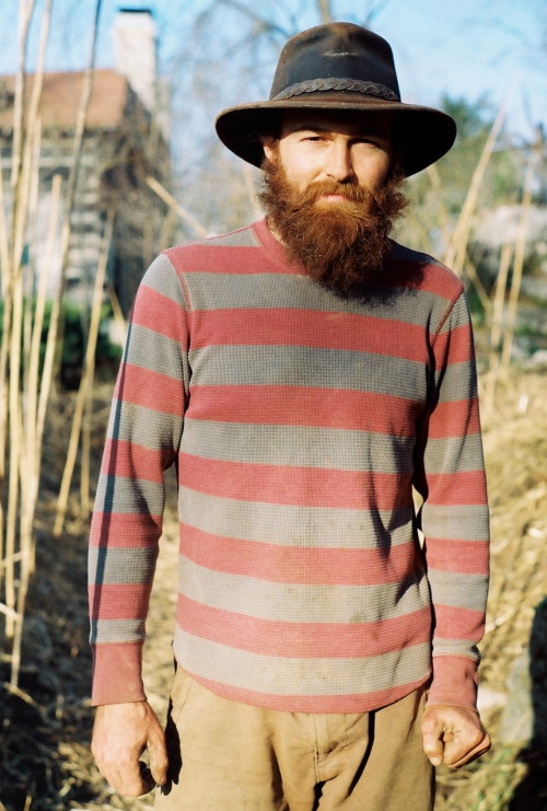 Farmer Tim in Bowling Green Ky. March 2013. Pentax K1000.