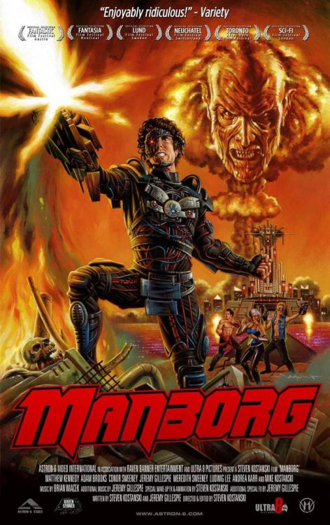 I'll see your Terminator and raise you MANBORG!
